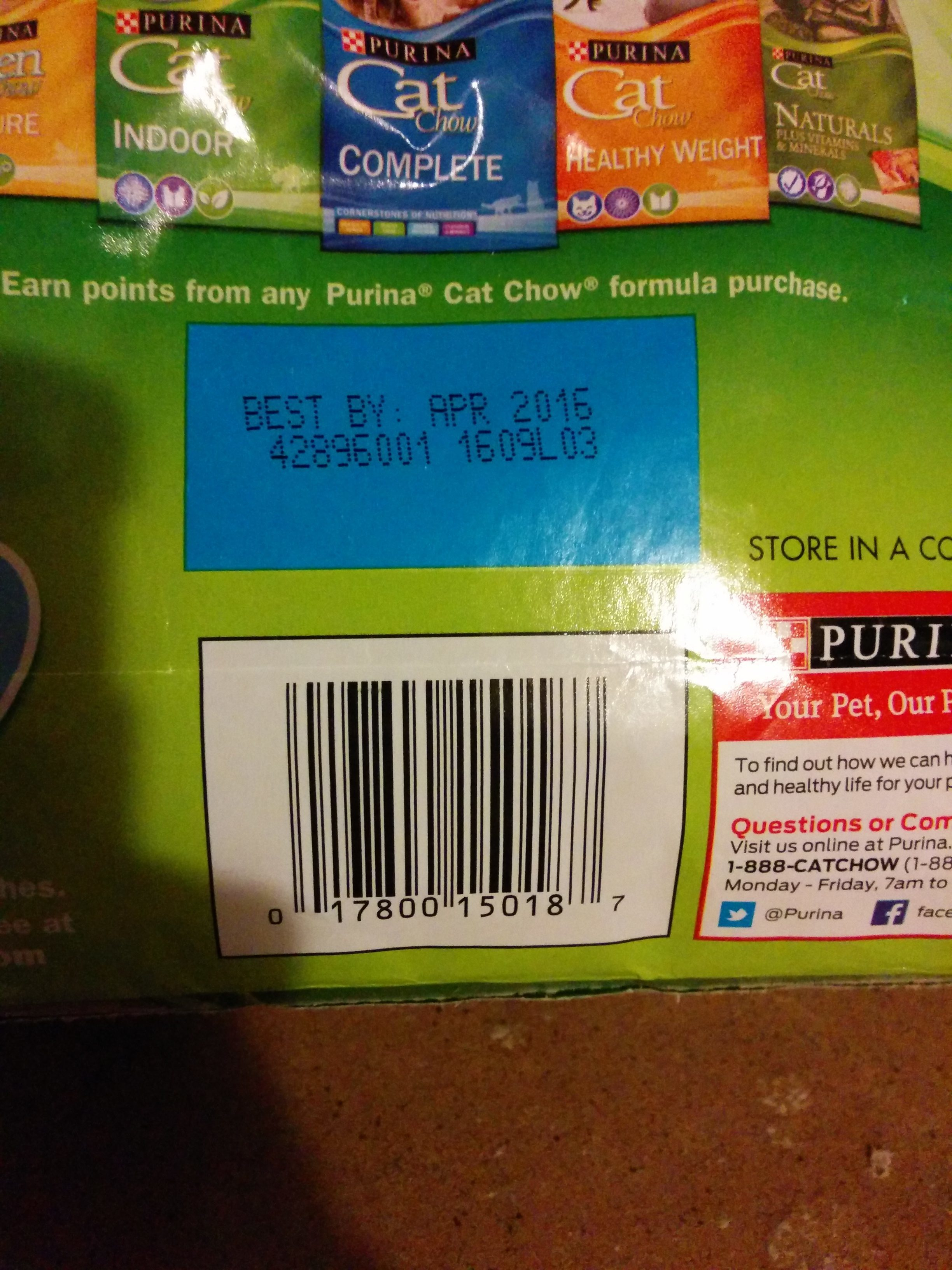 Top 1 222 complaints and reviews about purina pet foods for Food barcode