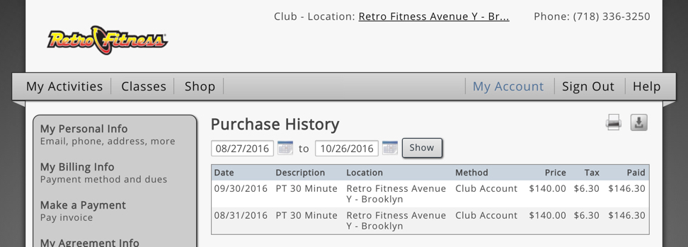 Retro Fitness Cancellation Letter.How To Cancel Planet Fitness Membership Cancelled My Gym