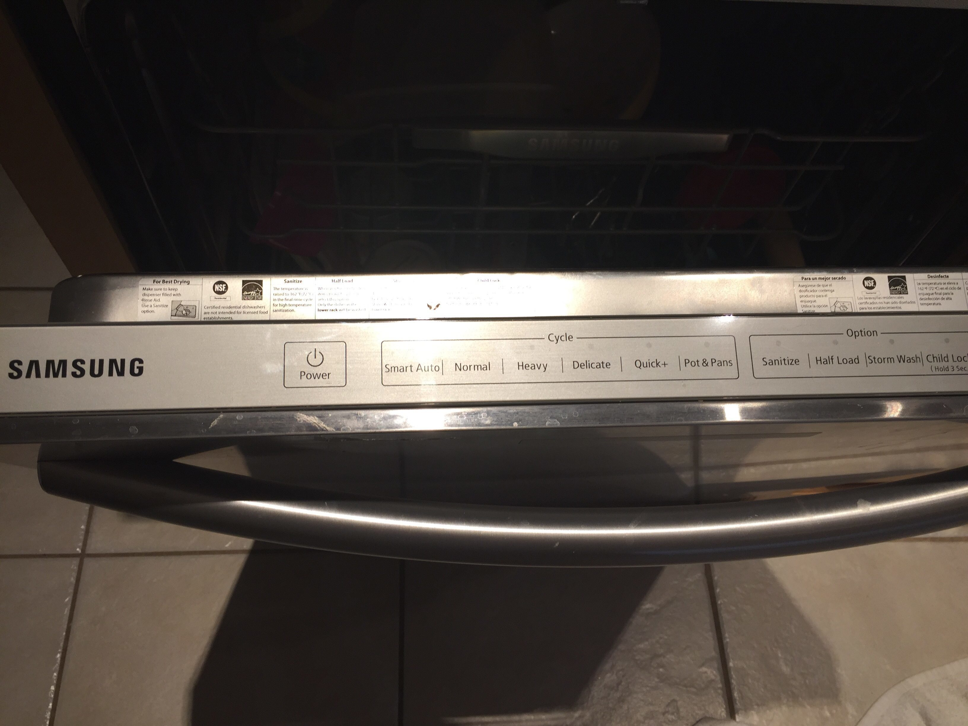 Dishwasher Purchase And Installation Top 603 Complaints And Reviews About Samsung Dishwasher