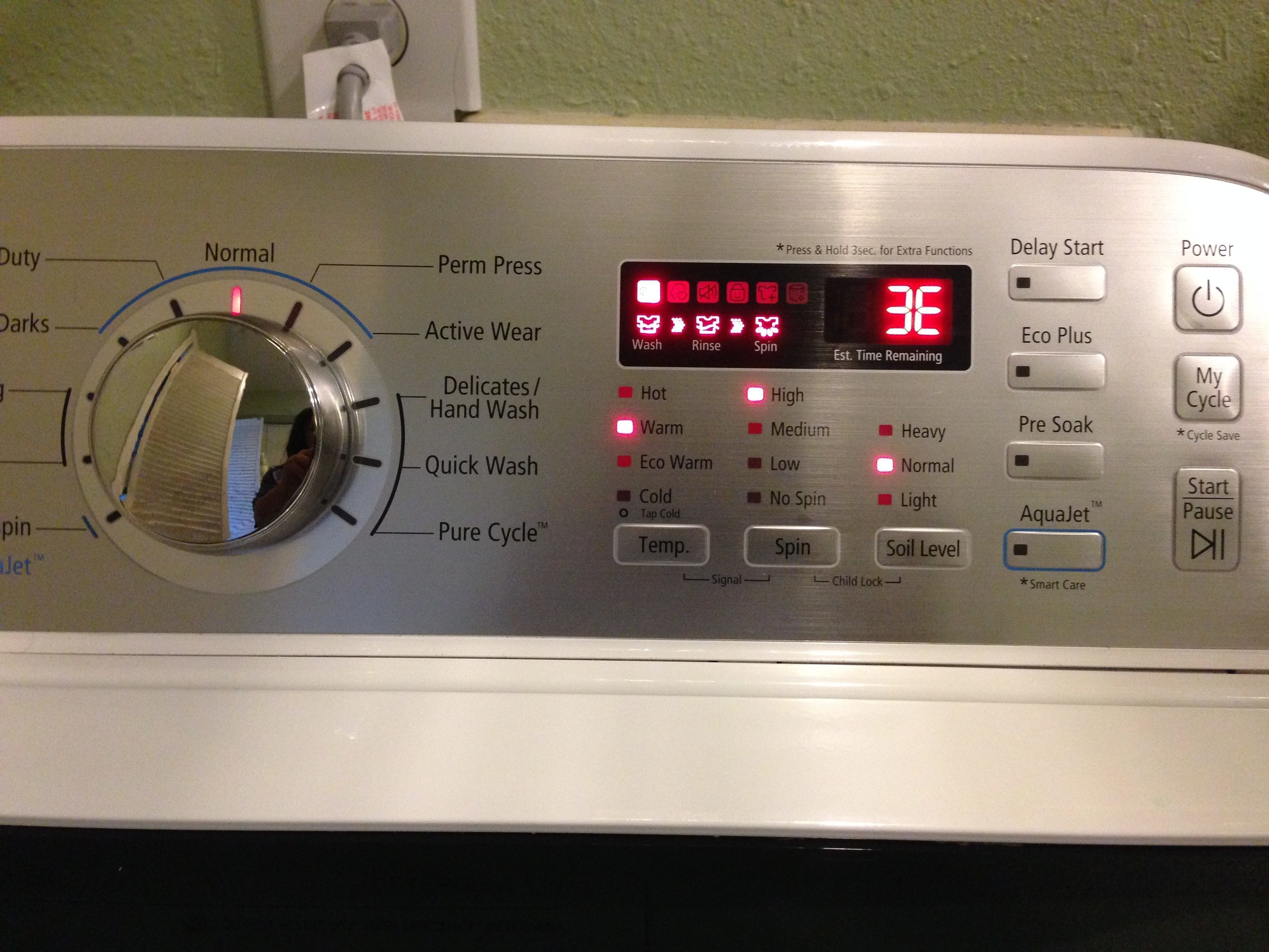 samsung washing machine complaint