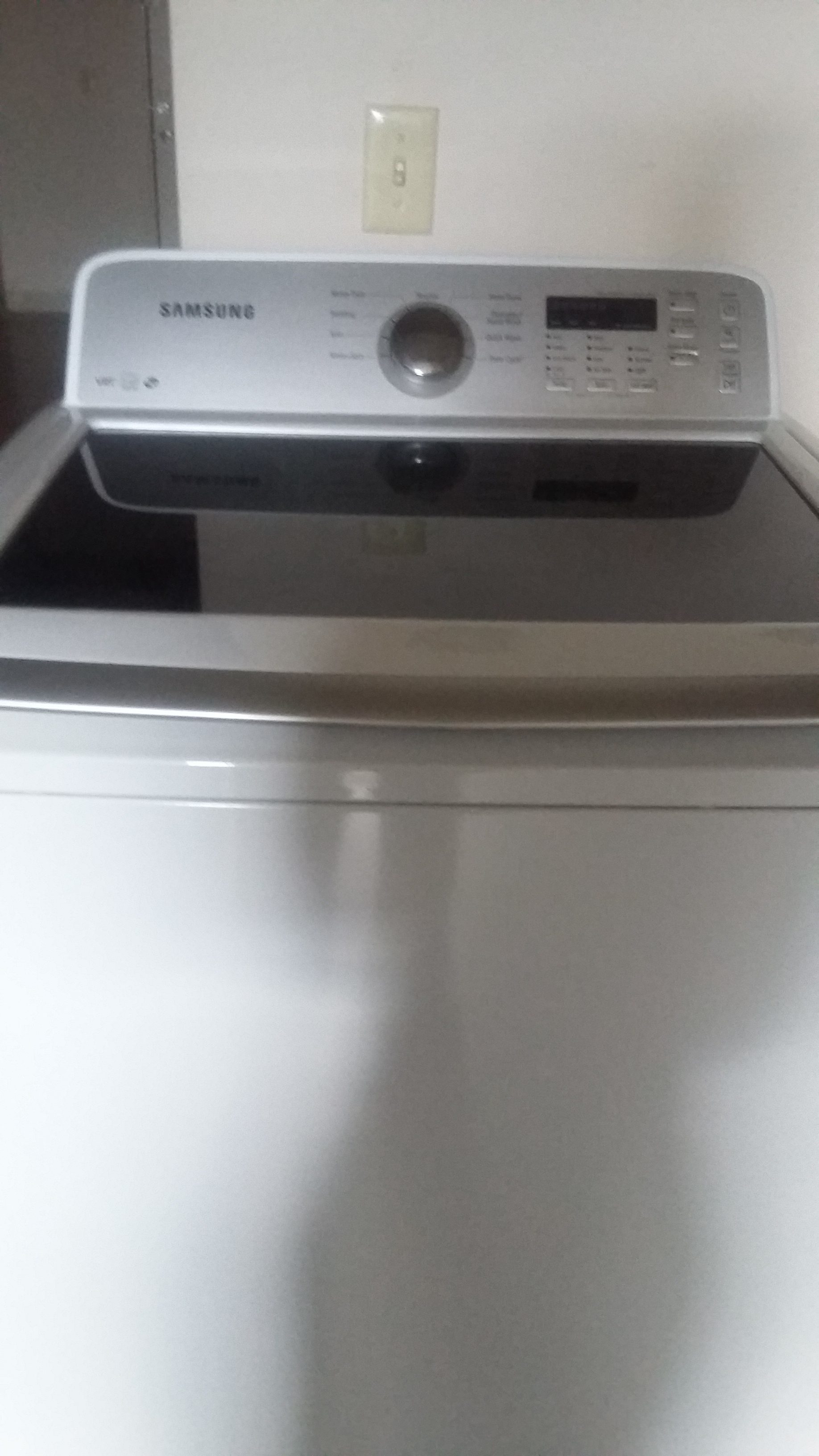 washing machine starts to spin then stops