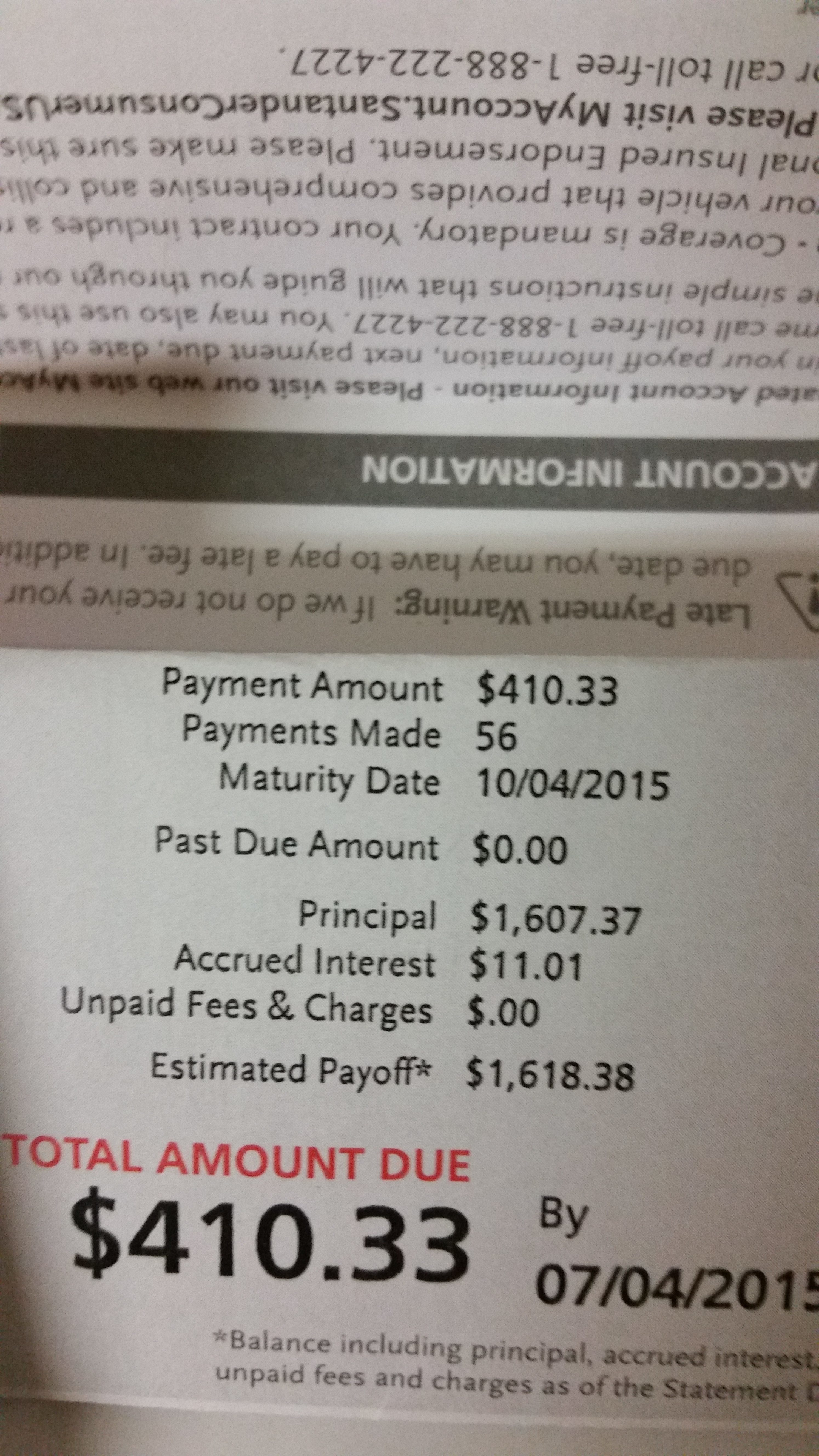 Is it legal to stop check payment on deferred down payment for a car?