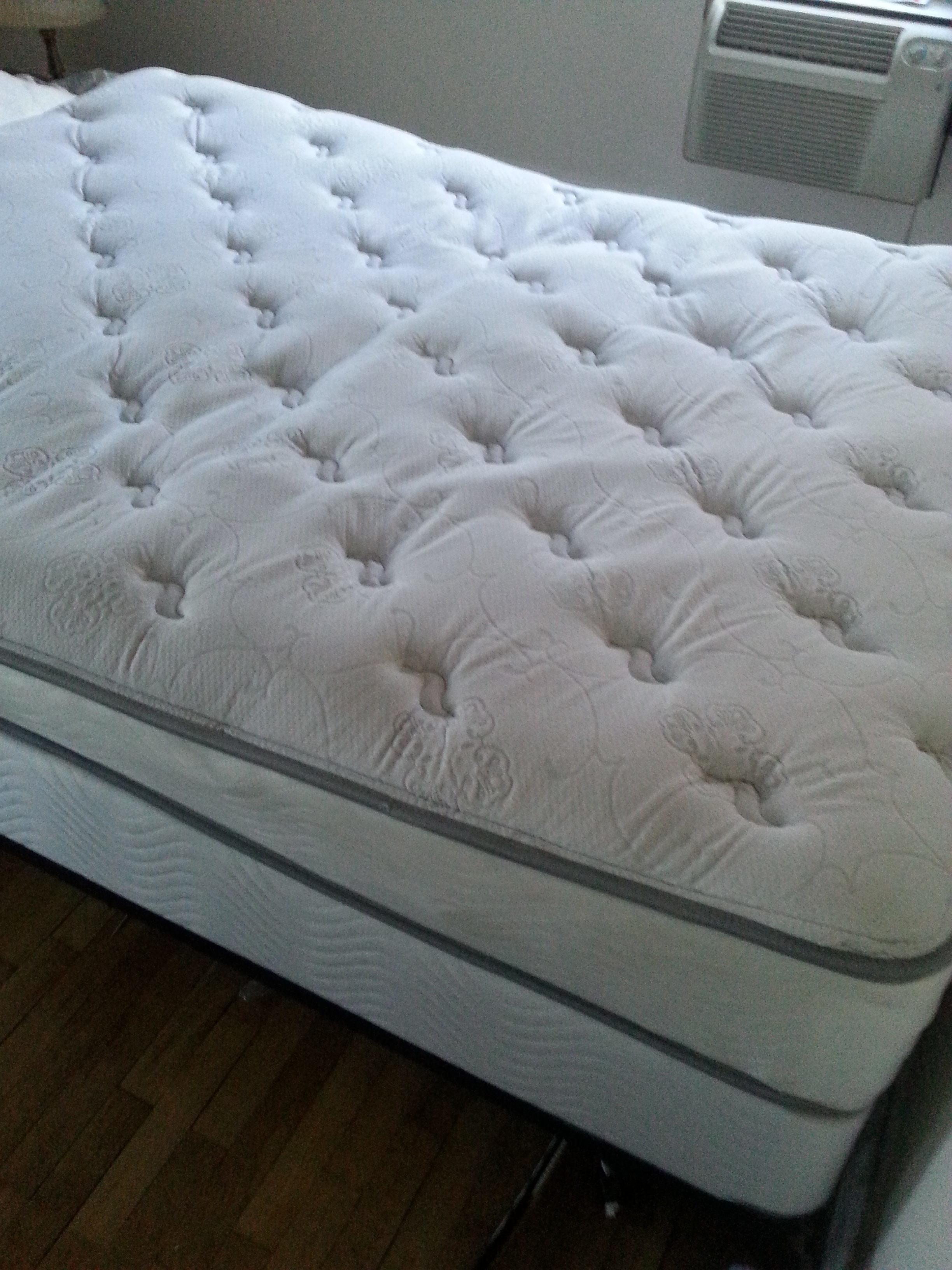 view both images - Sleepys Bed Frame