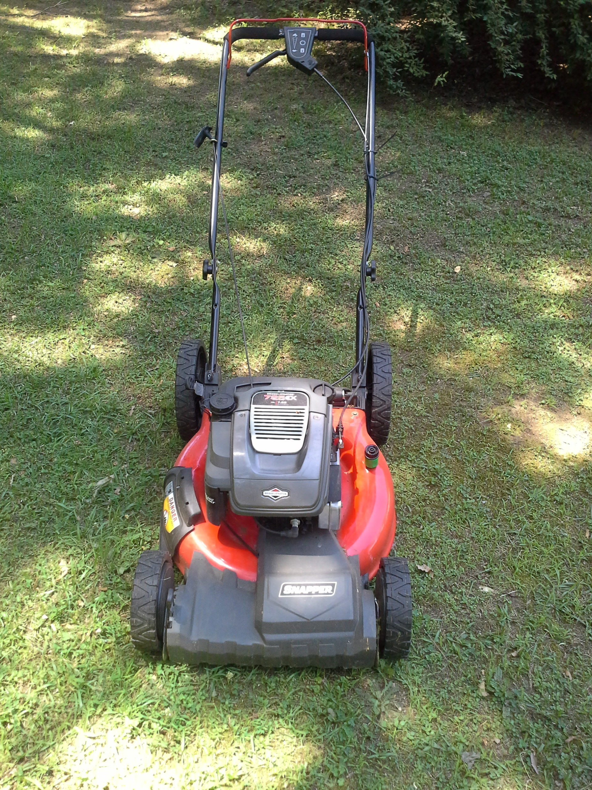 Riding lawn mower won t start - I Purchased The 725ex Model Based On The Proud Snapper Name And Also Owning A Riding Mower Of The Same Name I Found That My Local Wal Mart Was Selling This