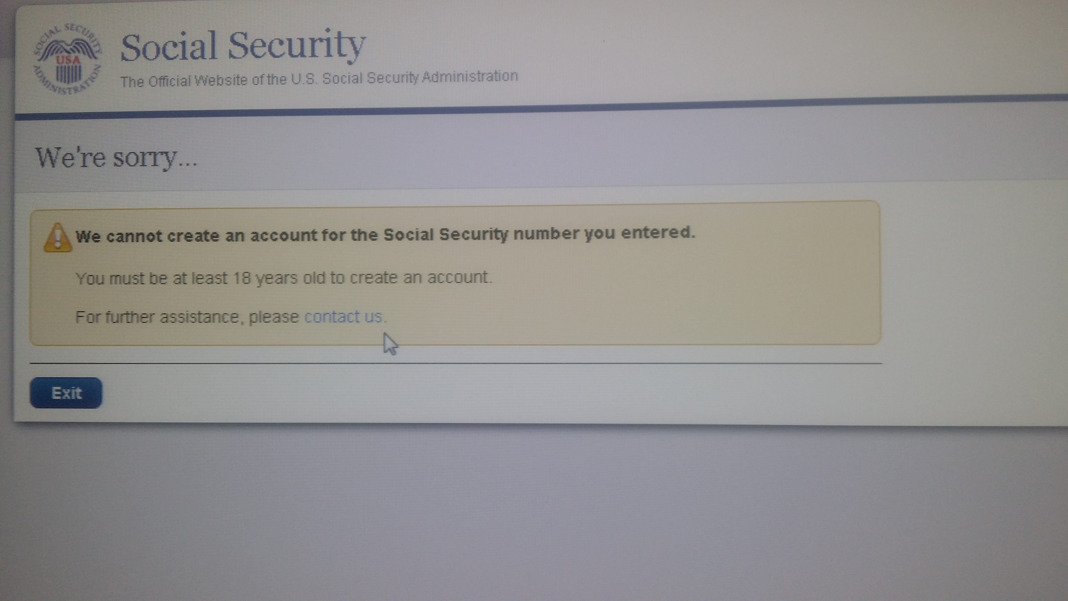 Social security administration my account