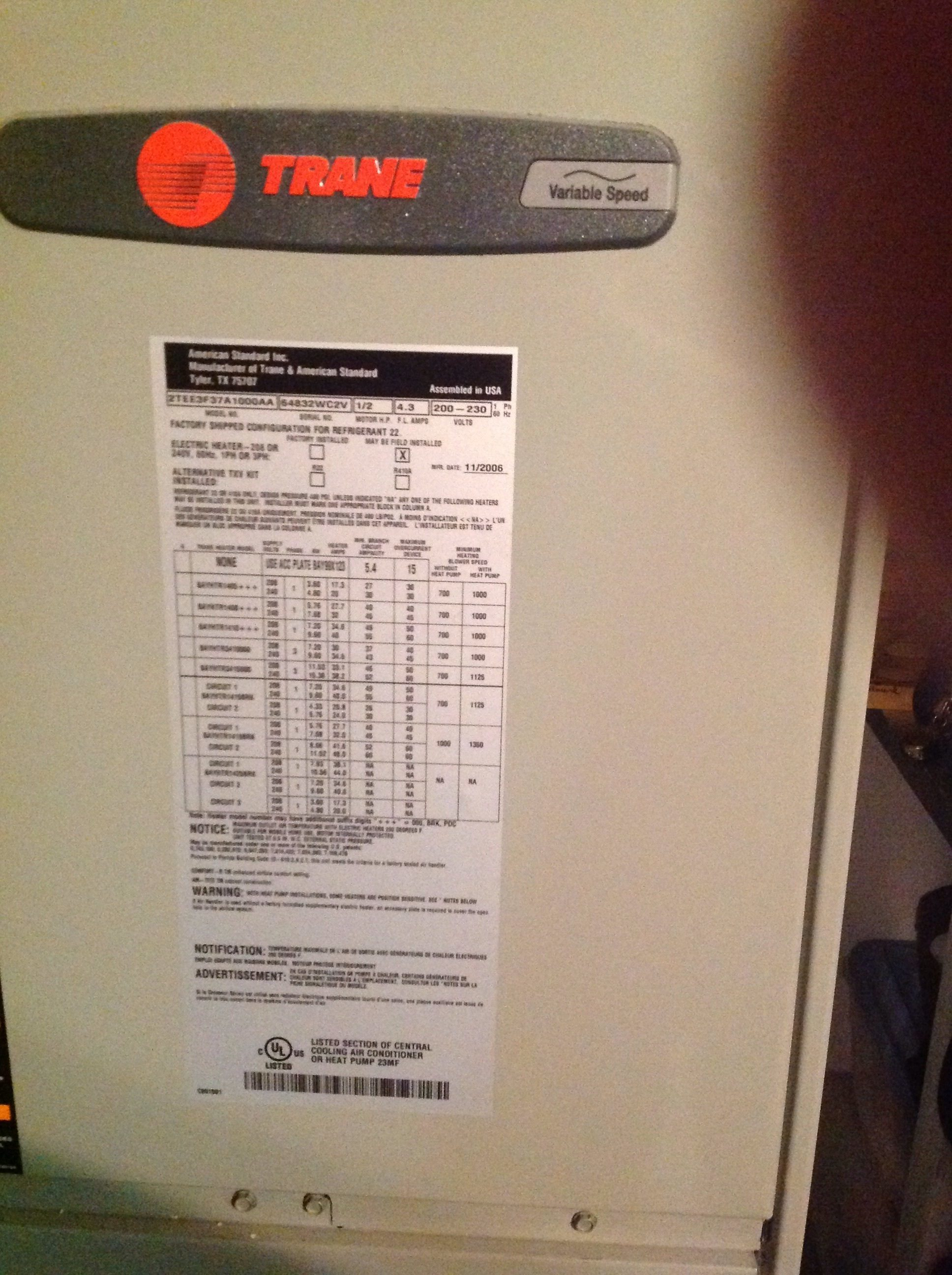 Top 299 Complaints And Reviews About Trane Page 3