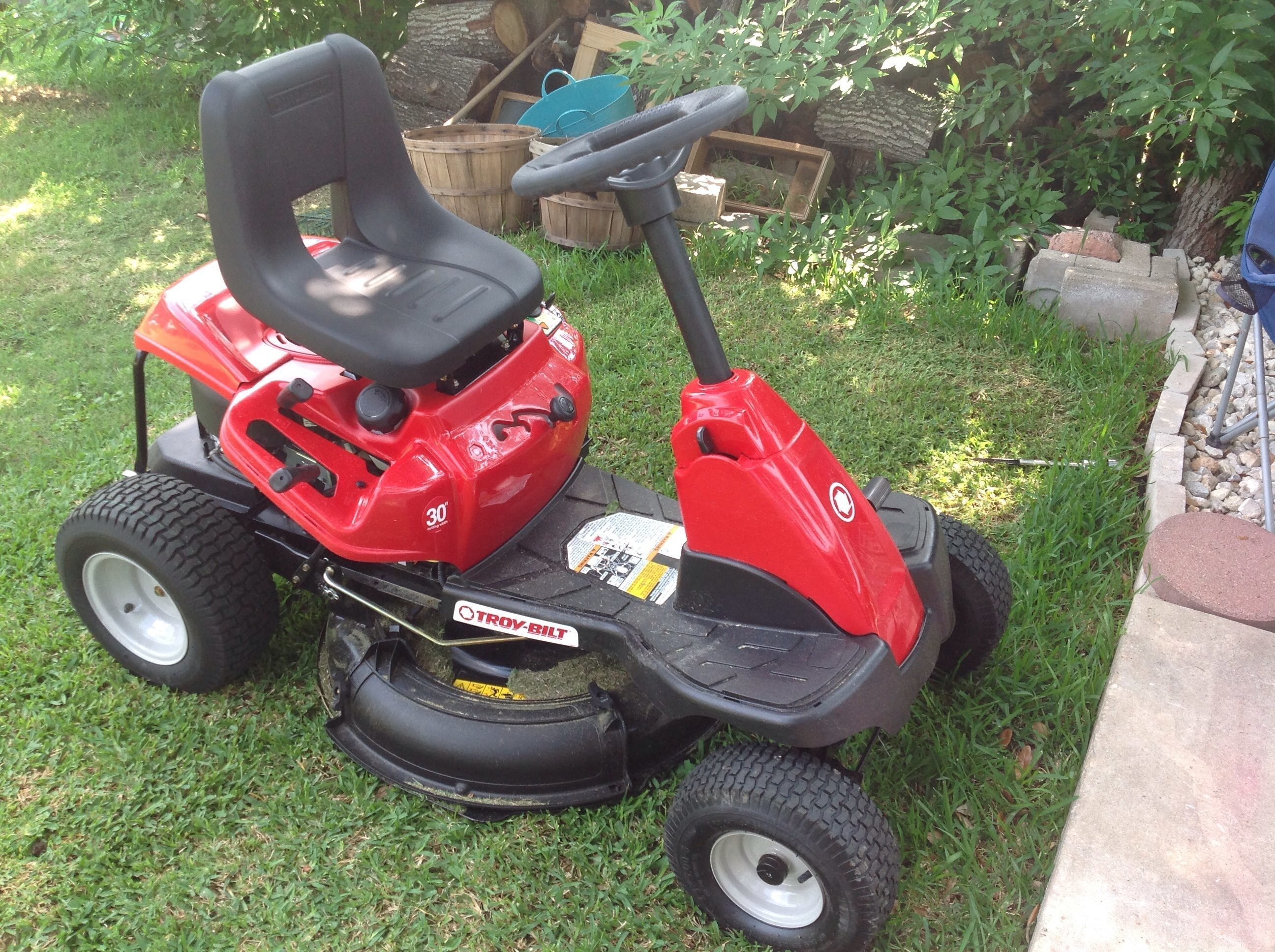 Riding lawn mower won t start - I Purchased The Troy Bilt 26j Mini Rider To Replace My Craftsman Ride On Mower I M 55 Female And Very Good At Using All Types Of Mowers Tools Etc