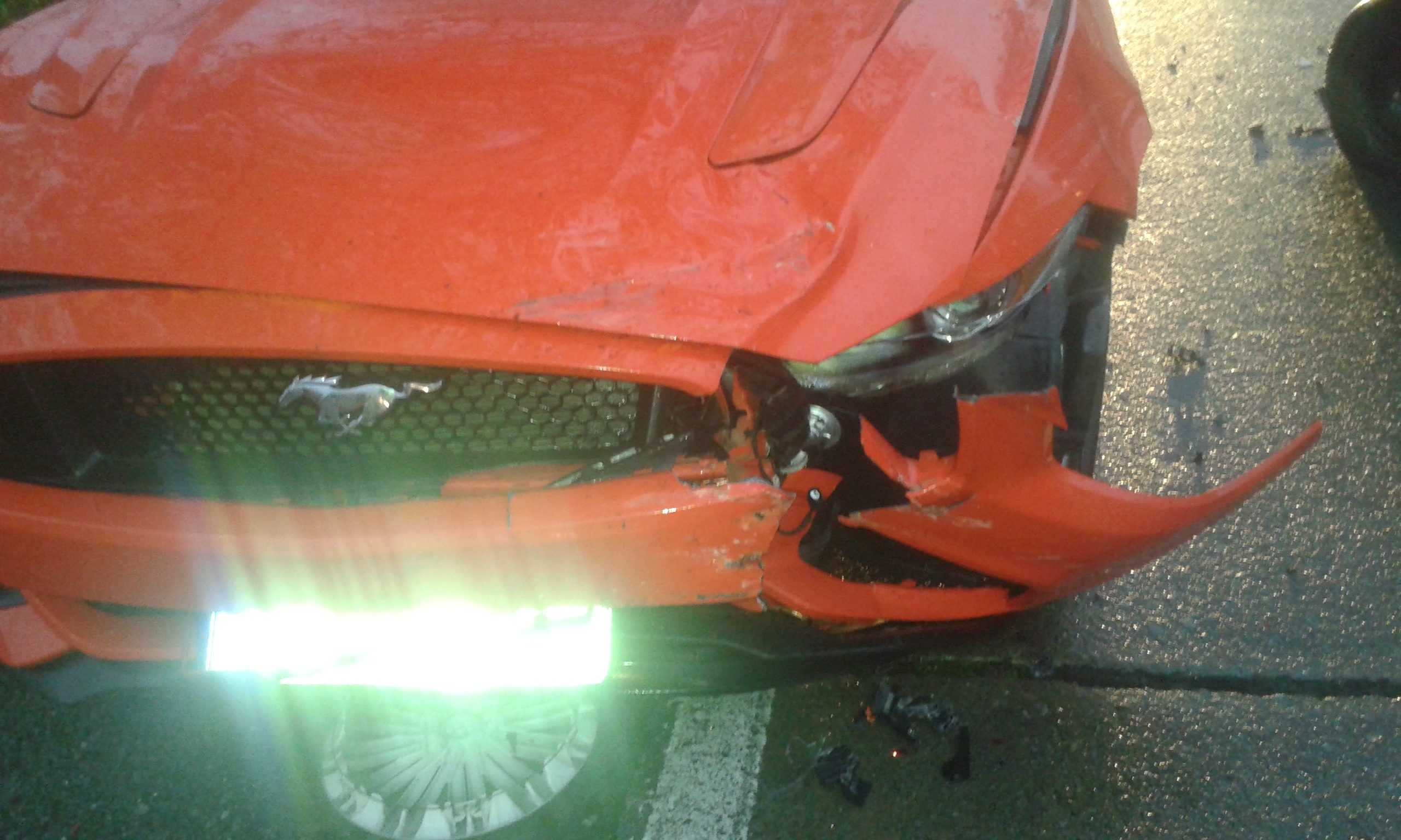 I Have A Lowmiles, Mint Condition (prior To This) 2015 Mustang Gt With  Minor Body Damage From A Lowspeed Impact With No Mechanical Involvement To  The