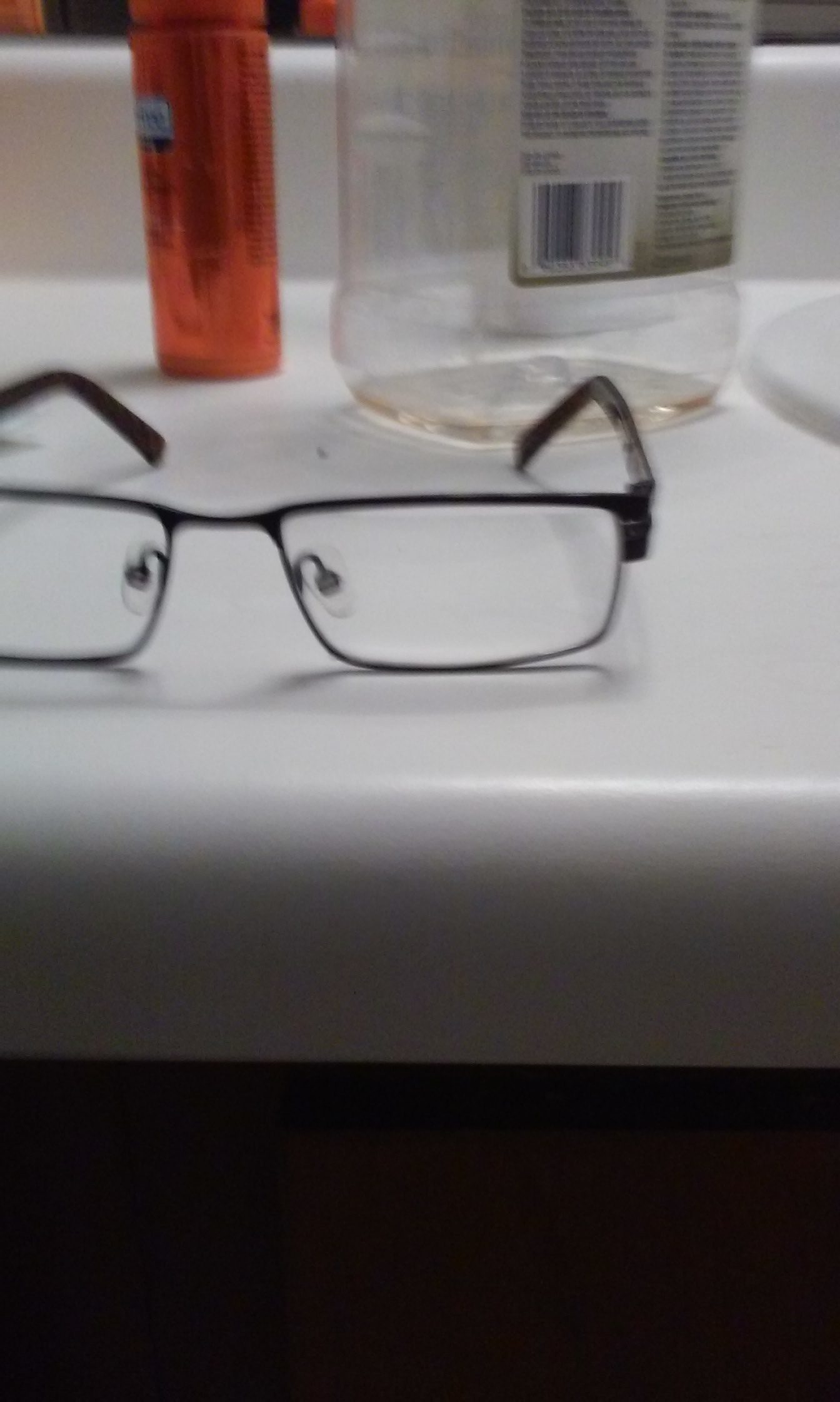 when i purchased my glasses at vision works which were designer frames i noticed the lenses appeared to be not cut right i informed them that the lenses