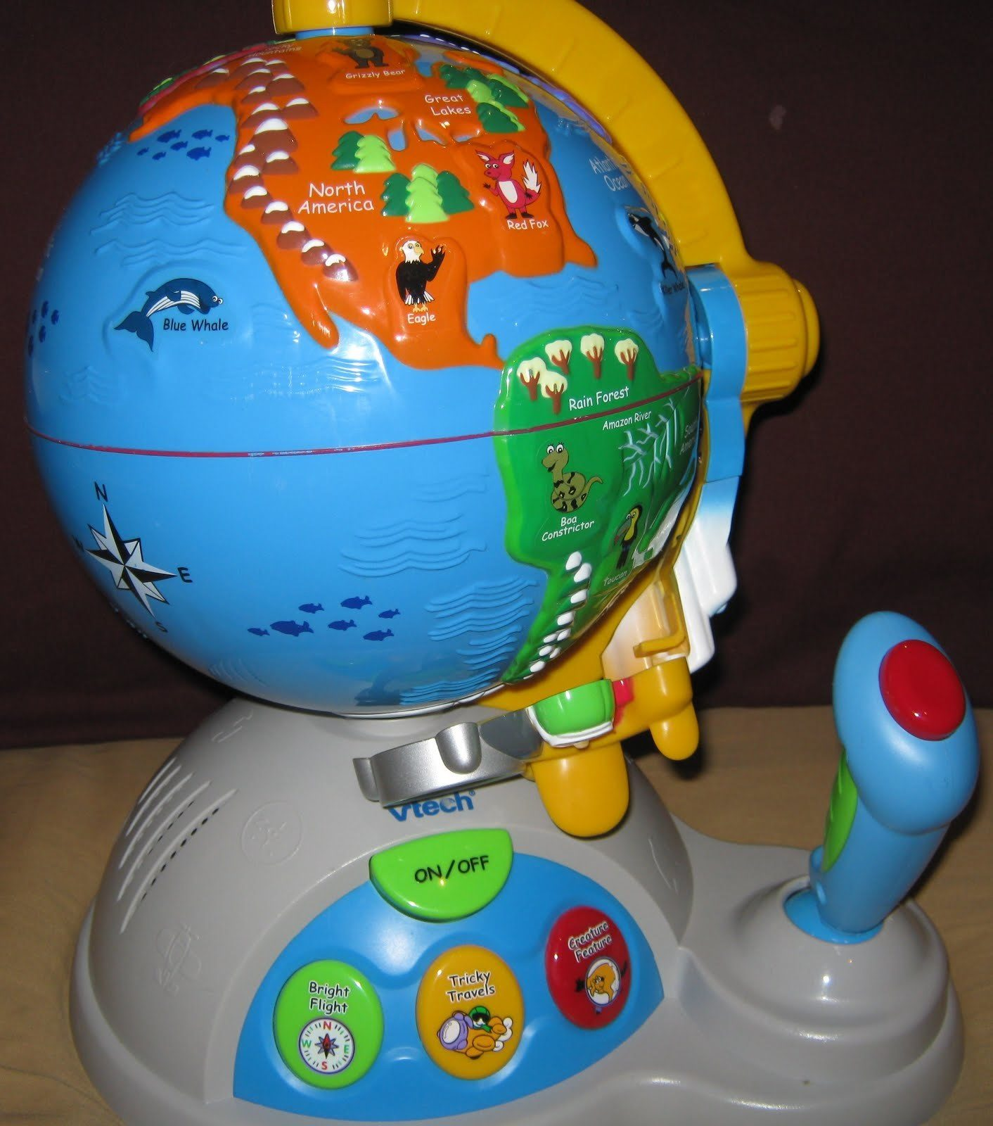 My Daughter Loves Her Vtech Fly And Learn Globe I Honestly Can Say, It's A  Very Good Learning Musical Toy For Toddlers It's A Bit Expensive, But Kids  Will