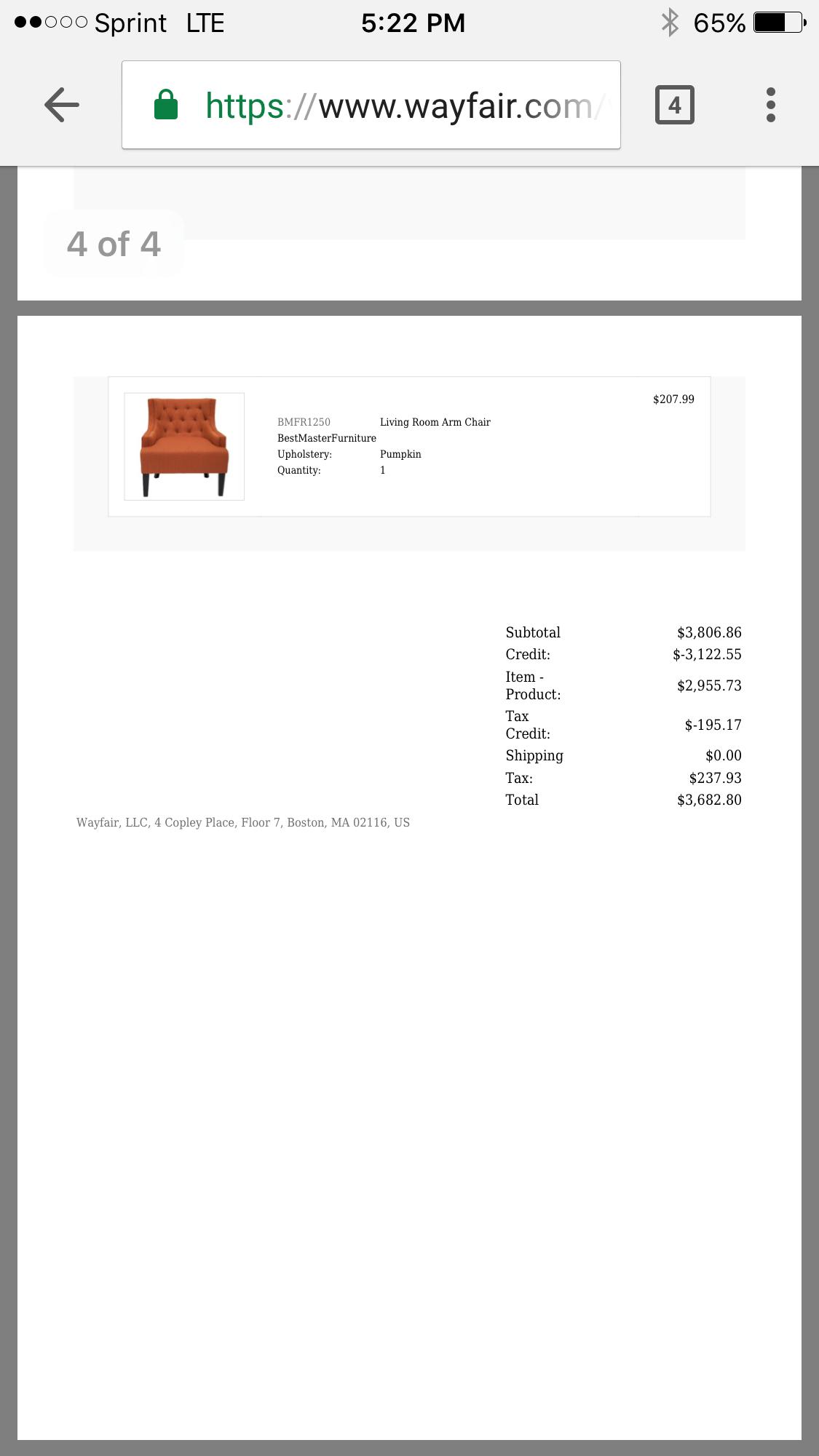 Great Affordable I Ordered Furniture ...