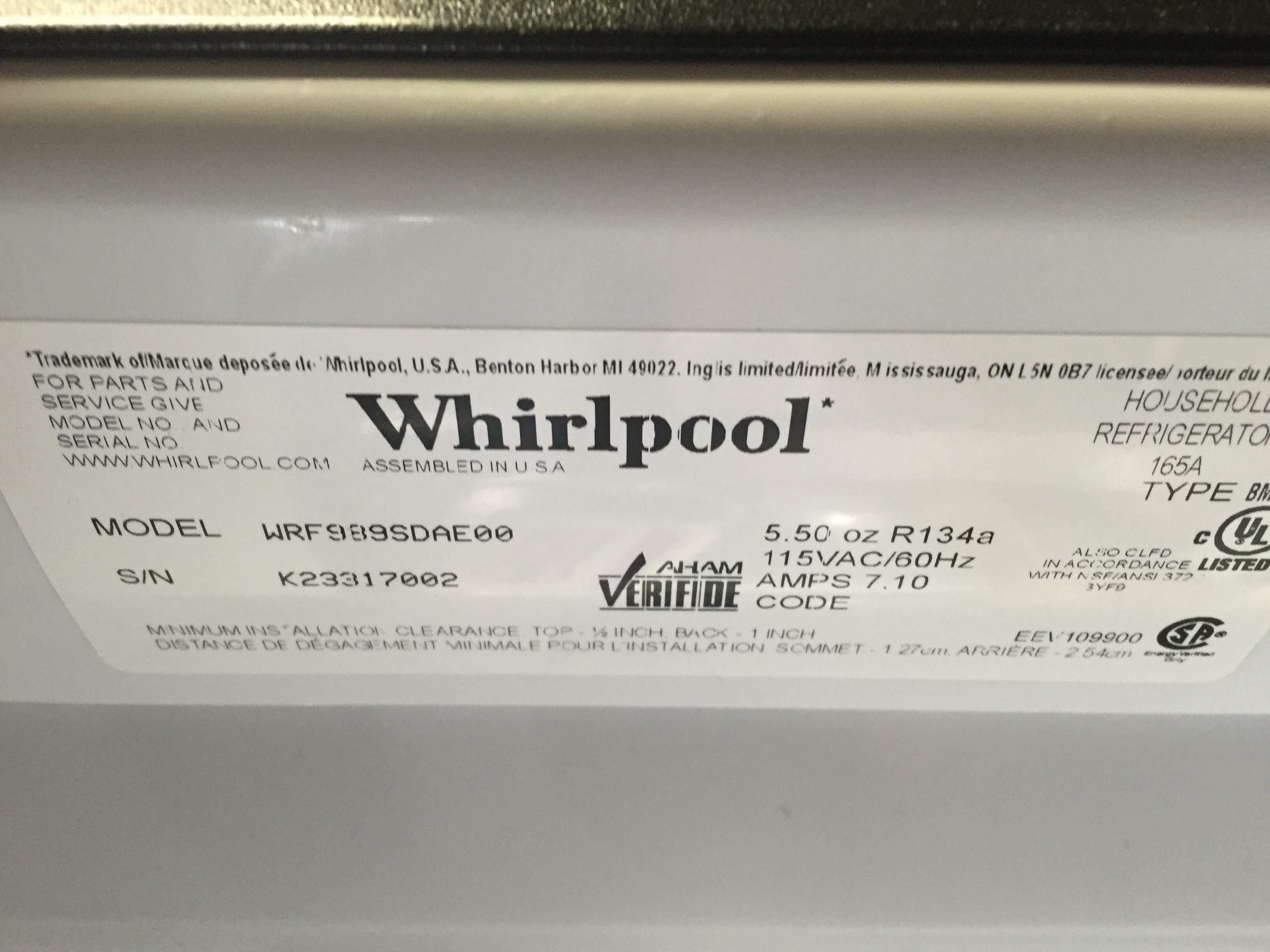 Top 1 105 Complaints And Reviews About Whirlpool