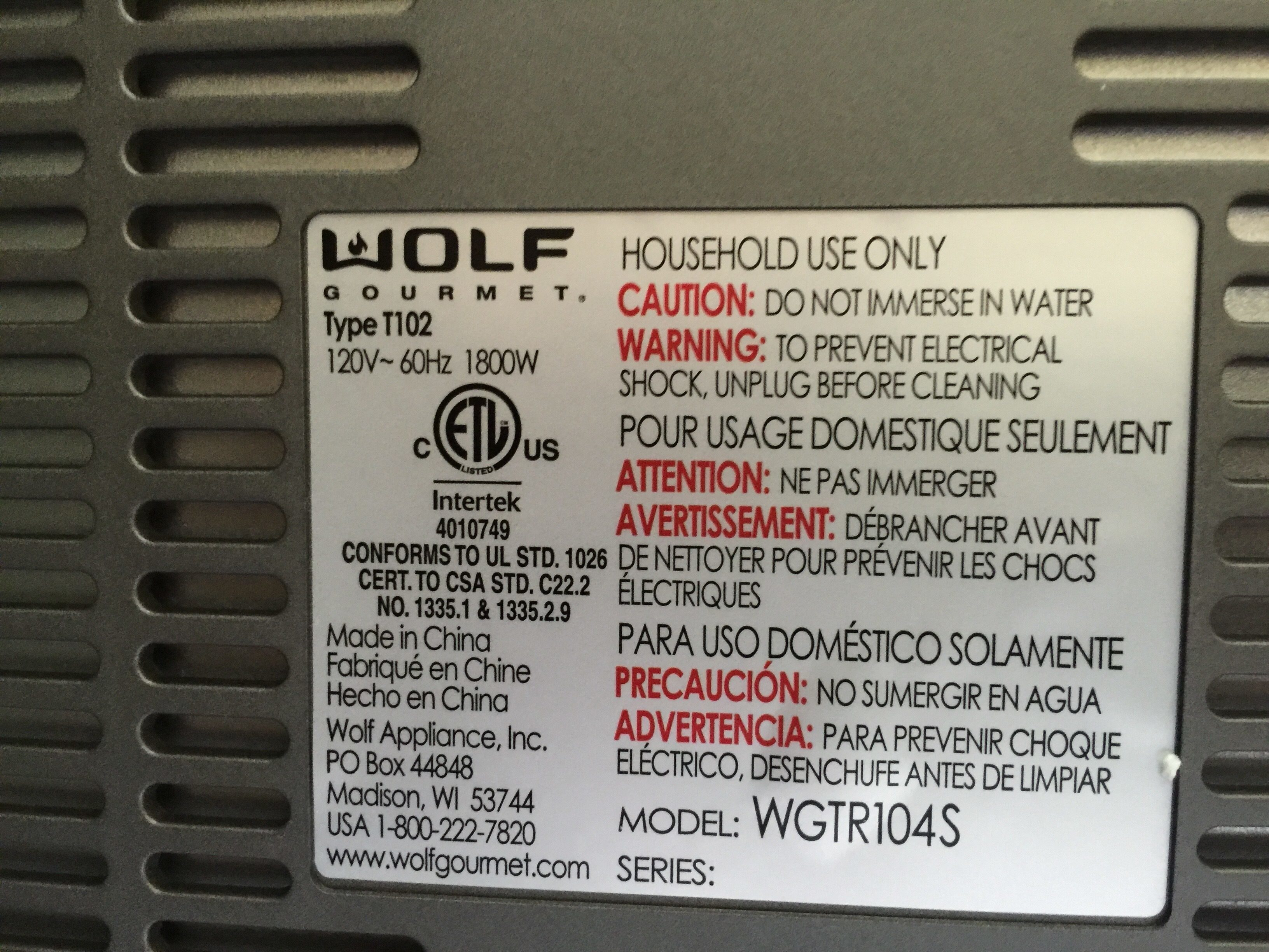 Top 65 Complaints and Reviews about Wolf Cooking Appliances ...