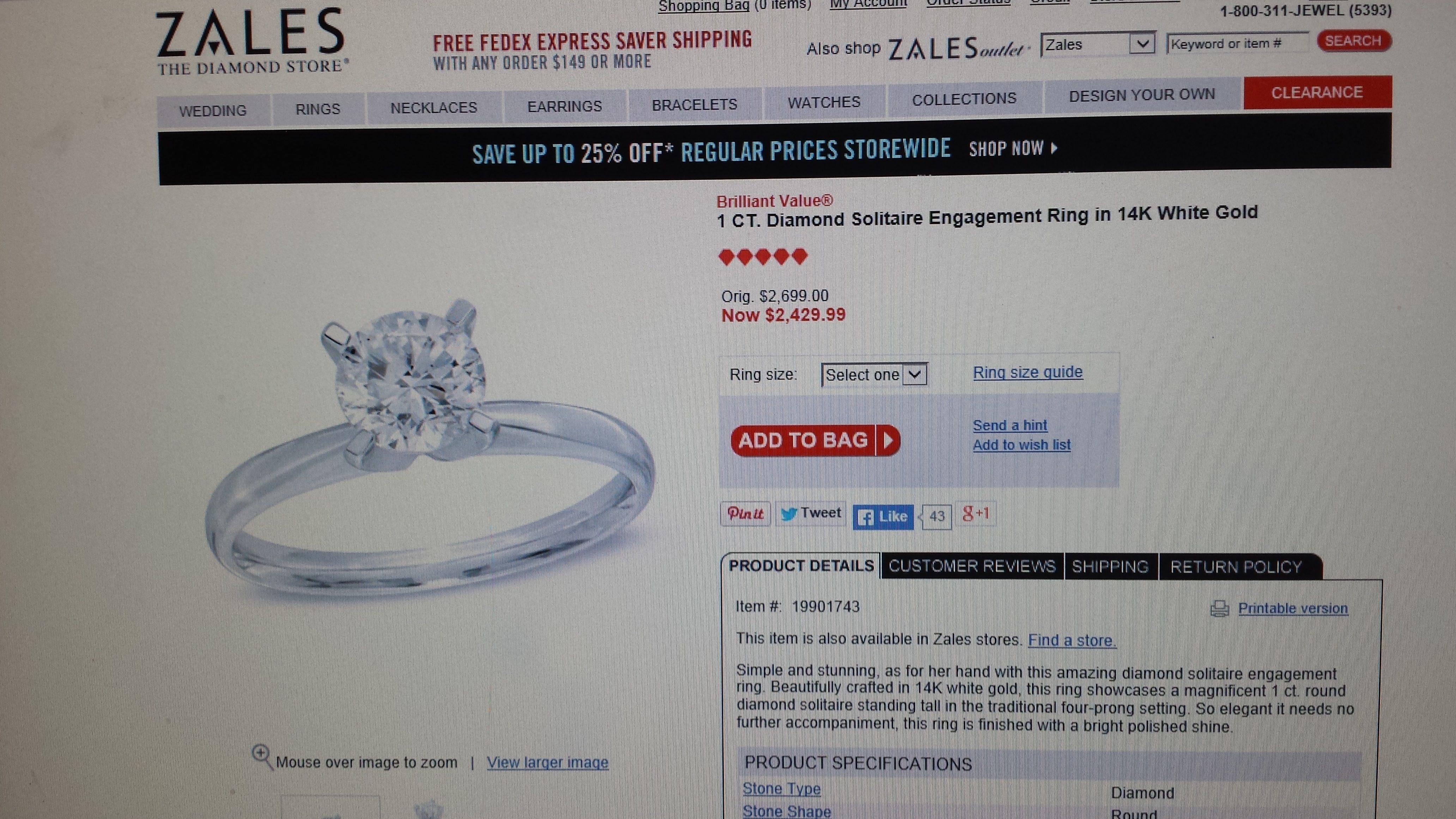zales zales diamond wedding rings