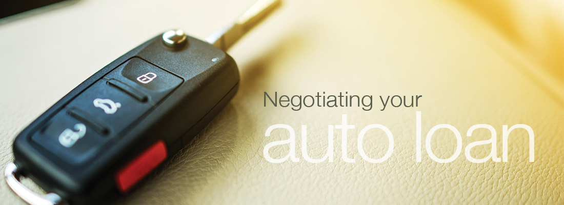 Negotiating your auto loan