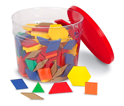 childrens bucket of shapes