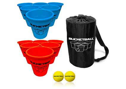 bucket ball game set