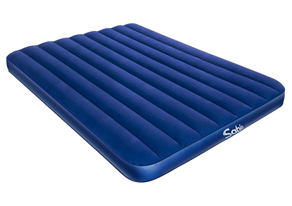 blue skinny air mattress