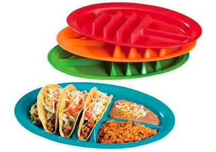 taco holder plates